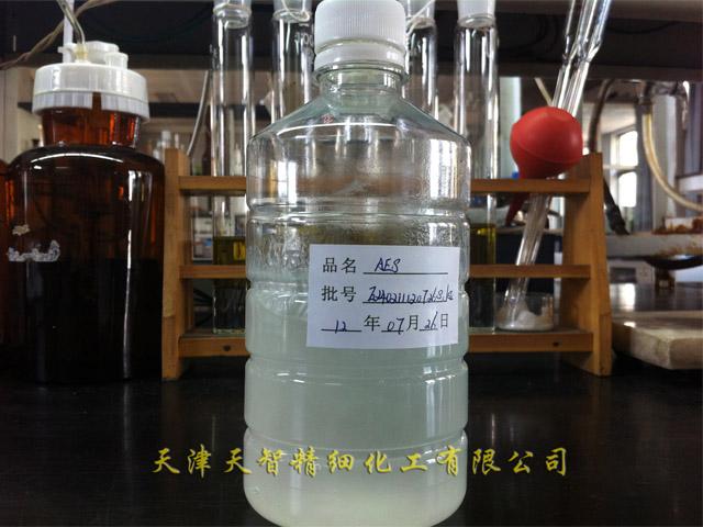 脂肪醇聚氧乙烯醚硫酸钠 产品别名: 乙氧基化烷基硫酸钠 结构式:&nb